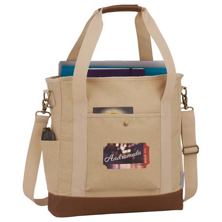 4883cd01ead1 Field   Co. 16 oz. Cotton Canvas Commuter Tote - 7950-20 - Leeds
