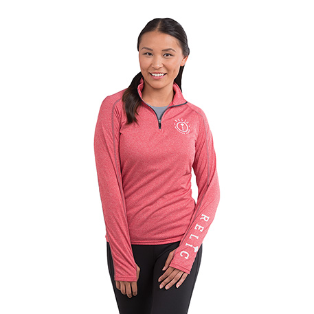 W-TAZA Knit Quarter Zip