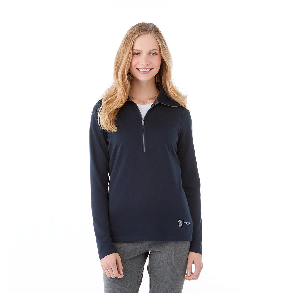 W-STRATTON Knit Half Zip