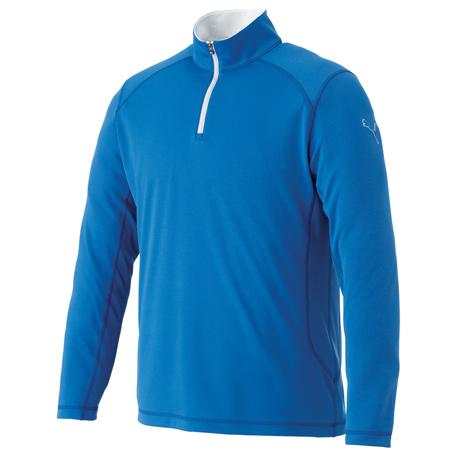 M - PUMA Golf Tech Qtr Zip Top