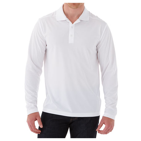 M-MORI Long Sleeve Polo