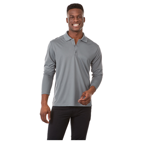 M-MORI Long Sleeve Polo
