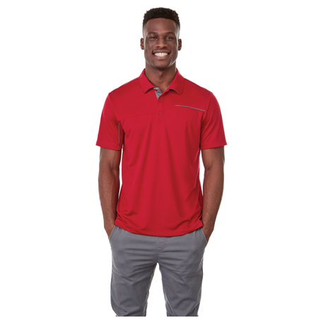 M-WILCOX Short Sleeve Polo