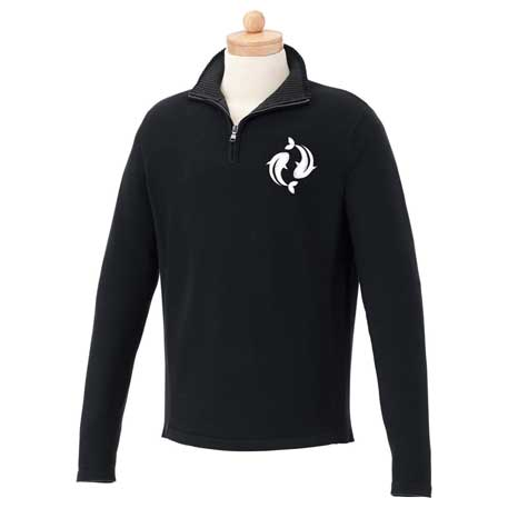 M-Moreton Quarter Zip Sweater