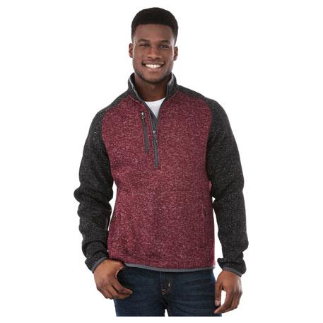 M-VORLAGE Half Zip Knit Jacket