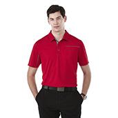 M-WILCOX Short Sleeve Polo