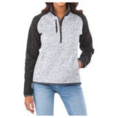 W-VORLAGE Half Zip Knit Jacket